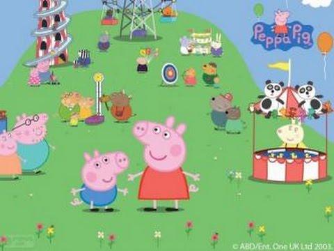 Poquinha Peppa Pig Parque de Diverses 2014  HD  vrios