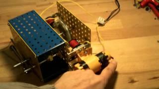 Meccano démarrer un moteur synchrone