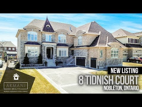 SOLD! 8 Tidnish Court In King City, Nobleton! (Ontario, Canada)