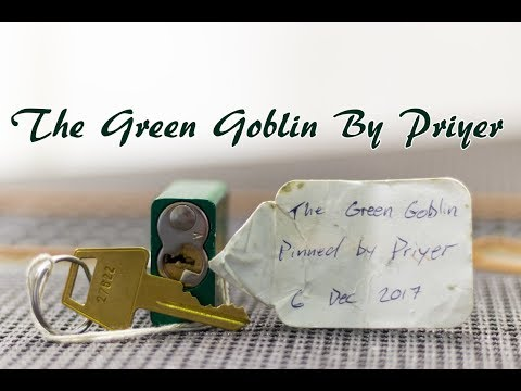 [179] The Green Goblin Challenge Lock Picked (Off Camera) And Gutted Created By Priyer