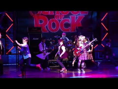 School of Rock Encore - Guitar on Head!