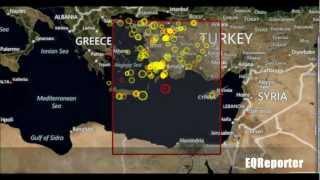 M 5.7 EARTHQUAKE - EASTERN MEDITERRANEAN SEA 07/09/12