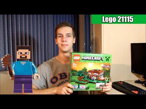 Lego Minecraft 21115 (First night\Первая ночь)