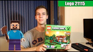 Lego Minecraft 21115 (First night\Первая ночь)