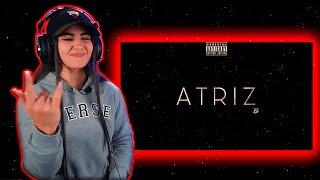 Stam - Atriz (Lyric Video) Prod. Lontraz [REACT Mah Moojen]