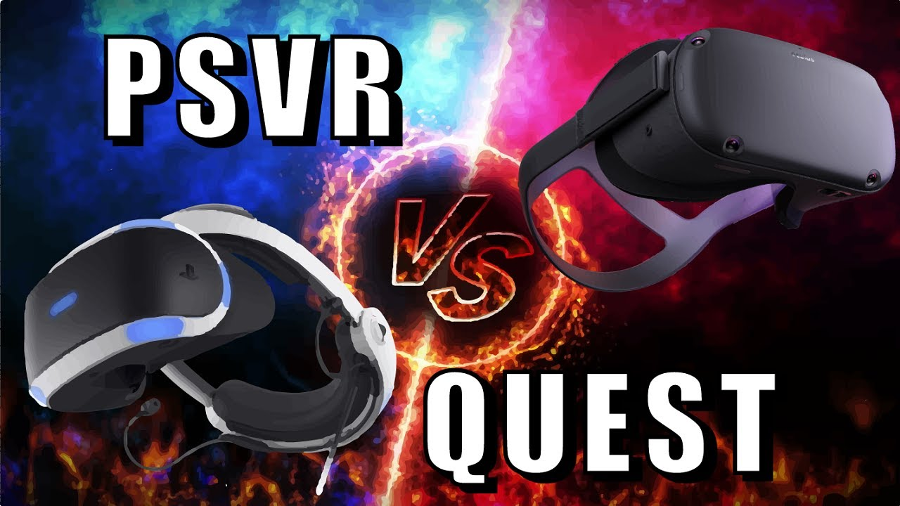 OCULUS QUEST vs PSVR - Graphics + Display, Tracking, Processing Power