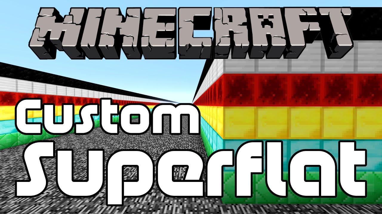 how to add more layers in minecraft superflat