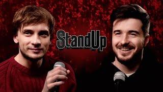 Василий Медведев и Тимур Джанкёзов отвечают на пару вопросов для StandUp на ТНТ