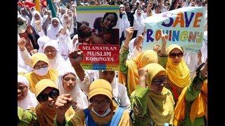 Mengharukan, Orasi Pendeta Budha Surabaya Peduli Muslim Rohingya Myanmar