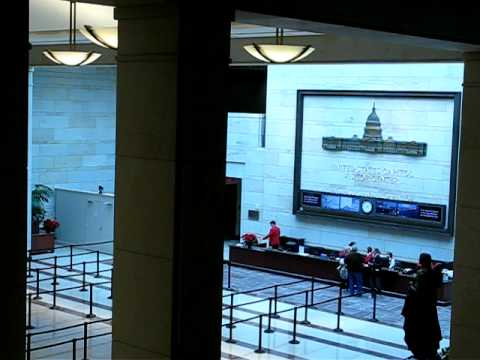 Washington DC - U.S. Capitol - Visitor Center - December 2011