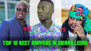 TOP 10 Best MALE Rappers in sierra Leone 2021 ||Salone_fizclusive
