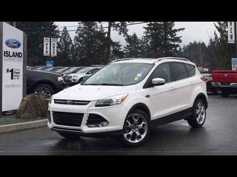 Ford Escape Sunroof >> 2014 Ford Escape Titanium Dual Sunroof Review Island Ford Youtube