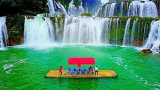 Video Bản Giốc / Detian - the greatest waterfalls seen as never before! download MP3, 3GP, MP4, WEBM, AVI, FLV Juli 2018