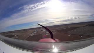 Cessna 150 Takeoff Kearney NE 02 15 2014
