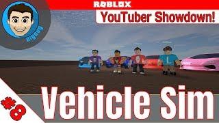 Roblox: Vehicle Simulator : Ep 8 : YouTuber Showdown with Seniac, ImaFlyNmidget, and Locus!