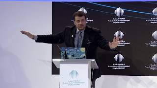 The Future of Colonizing Space- Neil deGrasse Tyson- WGS 2018