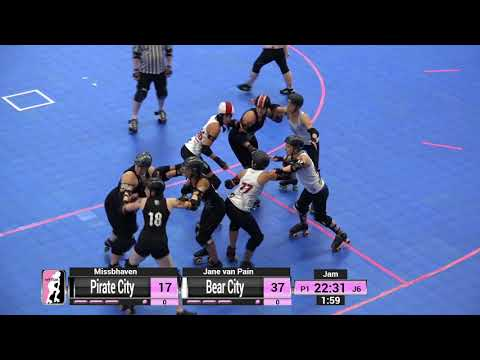WFTDA Roller Derby - Division 2, Pittsburgh - Game 16 - Bear City vs. Pirate City