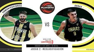 #LNB - Comunicaciones 80-62 Obras Basket (17/4/2021)