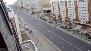 вот так ездит Назарбаев по Астане!