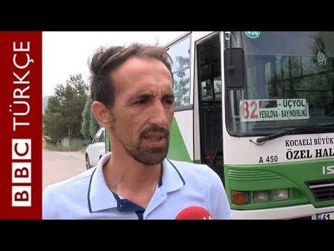 İzmit'te otobüsü karakola çeken şoför: Burası özgür bir ülke
