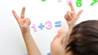 How To Teach Your Child to Add and Subtract with NO Fingers in 15 Minutes.