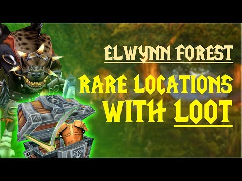 WoW Classic - Rare Mob Locations + UNIQUE LOOT - Elwynn Forest