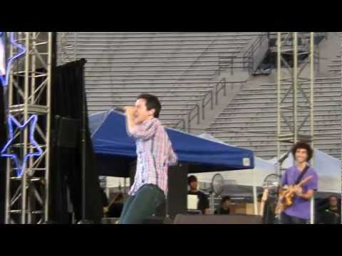 David Archuleta - The Other SIde of Down - Stadium of FIre -2