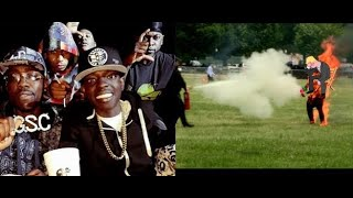 Bobby Shmurda Big Homie P Gutta Set On Fire Rikers Bloods Take Credit..DA PRODUCT DVD