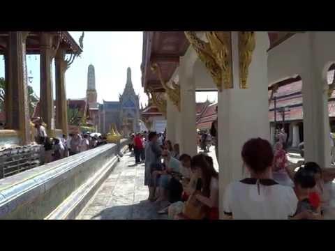 Bangkok, Thailand Temple of the Emerald Buddha (Бангкок Таиланд Храм изумрудного будды )