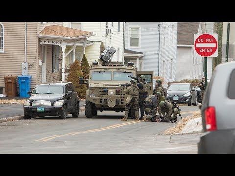 Long Hill Ave. Standoff & SWAT Incident (Shelton, Ct) 2/1/18