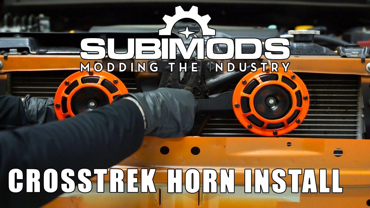 Subimods Hella Horn Kit Install Video 20132015 XV Crosstrek YouTube – Xv Crosstrek Wire Harness