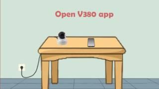 v380 wireless wifi camera instruction