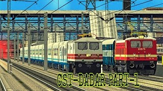 [MSTS] Train Simulator Indian Railways : 12137 PUNJAB MAIL PART-1 |CST-DADAR|