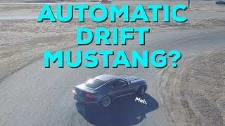 Taking an AUTOMATIC 2015 Ford Mustang Ecoboost to a drift event!