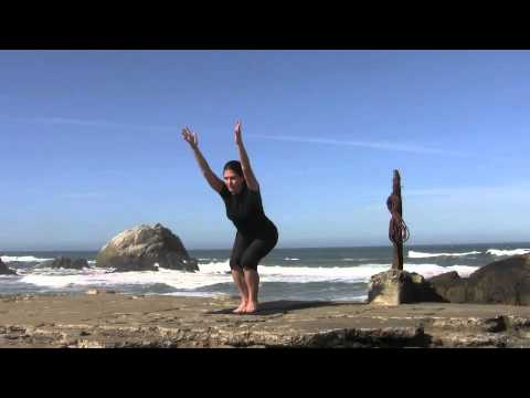 yoga for beginners sun salutation a stepping back  youtube