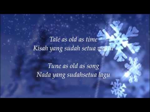 Beauty and the Beast  Ariana Grande ft John Legend  Lyric Indonesia