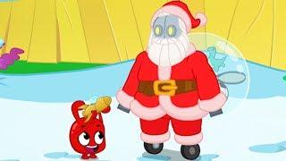 Robot Santa - My Magic Pet Morphle | Cartoons For Kids | Morphle's Magic Universe |