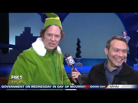 Here comes Buddy! 'Elf' lands at City Springs Theatre