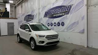 2018 Ford Escape SEL W/ 1.5L Ecoboost, Leather, Ford Safe & Smart Overview | Boundary Ford