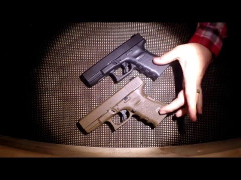 .40 Caliber vs 9mm - Glock 23 vs Glock 19
