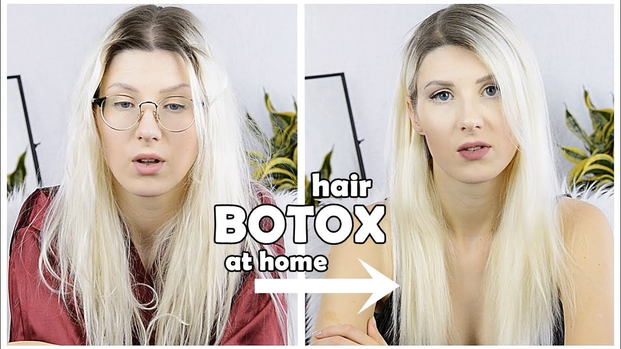 How To Botox Hair Filler Treatment At Home Review Demo Dove Sorys Youtube