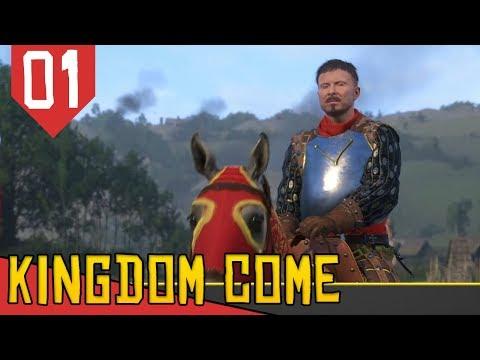 Skyrim ou Mount and Blade Realista?! - Kingdom Come Deliverance #01 [Série Gameplay Português PT-BR]