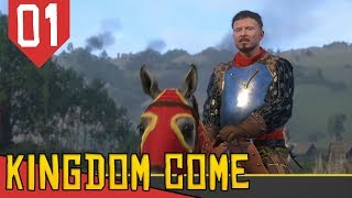 Skyrim ou Mount and Blade Realista?! - Kingdom Come Deliverance #01 [Série Gameplay Português PT-BR]