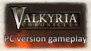 Valkyria Chronicles - PC version - Mission 2 - 1080p 60 fps