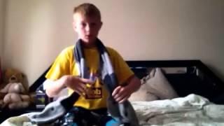 Фокус с шарфом уроки фокусов #1