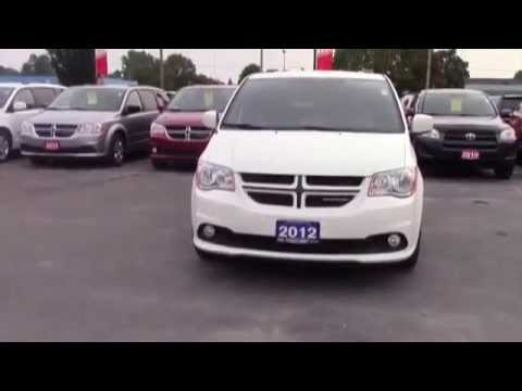 Used 2012 Dodge Grand Caravan R/T Leather Interior! Parkview Camera! Power Lift