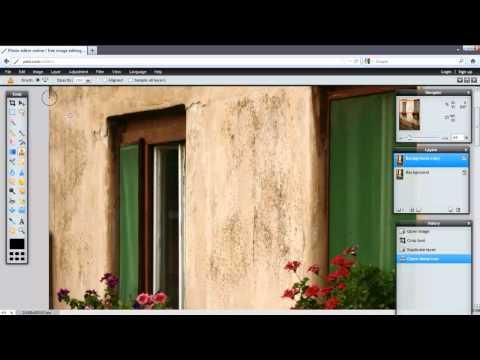 Pixlr: Online Photo Editing Tutorial