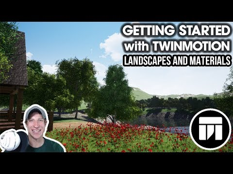 Getting Started RENDERING IN TWINMOTION (EP 3) – Sculpting Landscapes and Landscape Materials