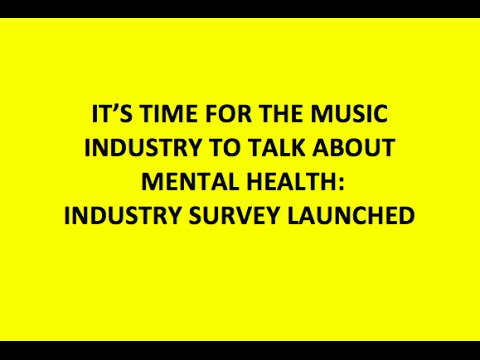 The Music Industry & Mental Health: Can Music Make You Sick?
