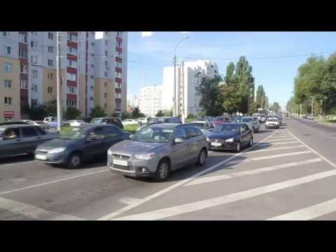 Белгород, перекресток Ватутина-Губкина 07.09.2016